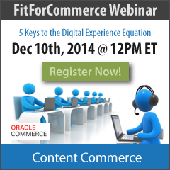 Signup for the Digital Experience Webinar