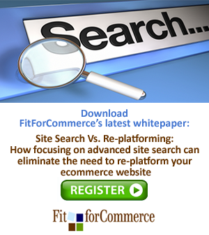 Register to download the White Paper: Site Search Vs. Re-platforming