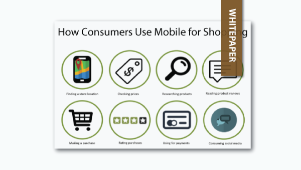 how consumers use mobile for shopping - whitepaper