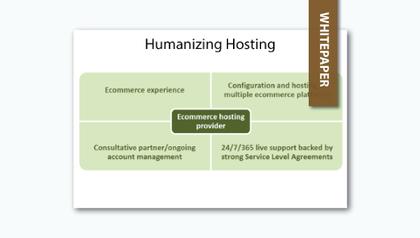 humanizing ecommerce hosting whitepaper