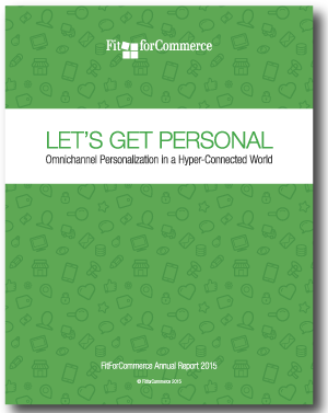 FitForCommerce report on personalization