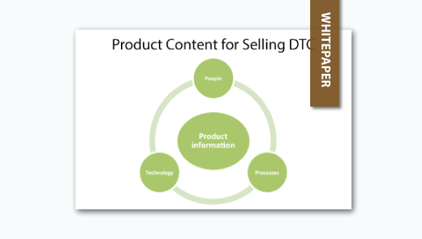 product content for selling direct-to-consumer and the importance of product information management systems